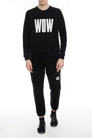 Printed inscription sweatshirt od MSGM