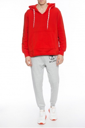 Hooded seatshirt od MSGM