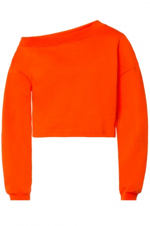 Sweatshirt with printed logo od MSGM
