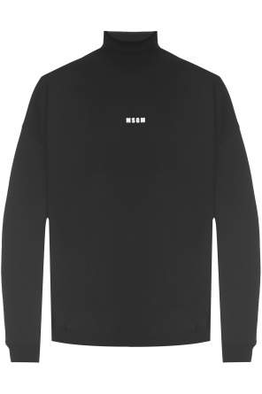 Sweatshirt with collar od MSGM