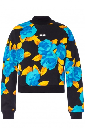 Patterned sweatshirt od MSGM