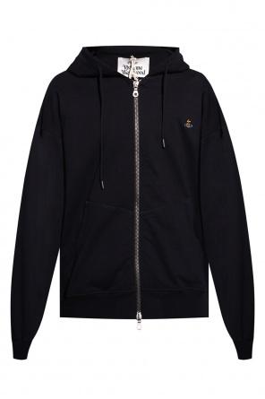 Logo-embroidered hoodie od Vivienne Westwood