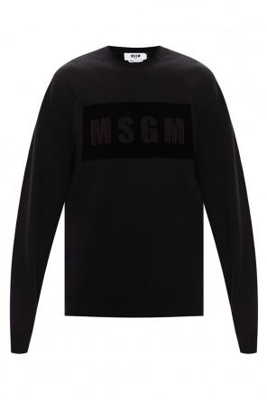 Logo sweatshirt od MSGM
