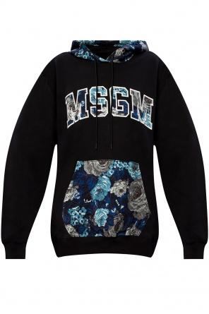Logo hoodie od MSGM