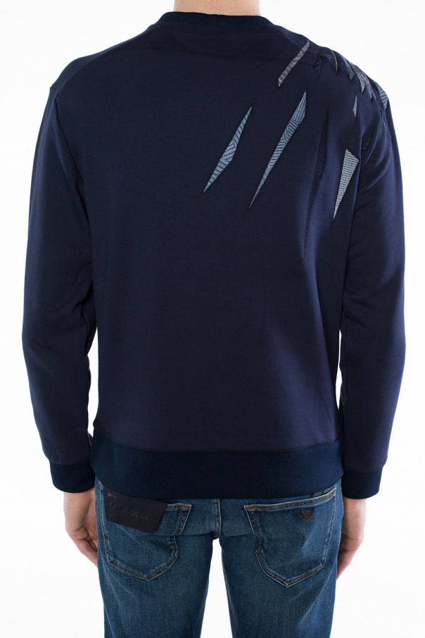 7cd2cdcc45a Eagle motif sweatshirt Emporio Armani - Vitkac shop online