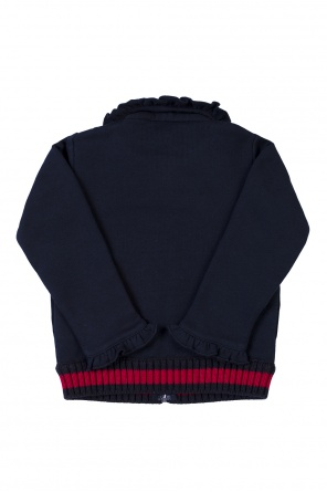 Sweatshirt with flounces od Gucci Kids