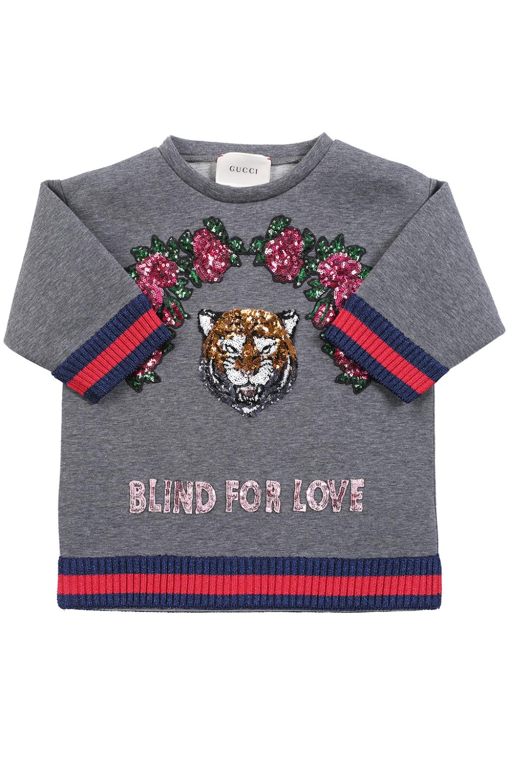 Gucci Kids Appliqued sweatshirt