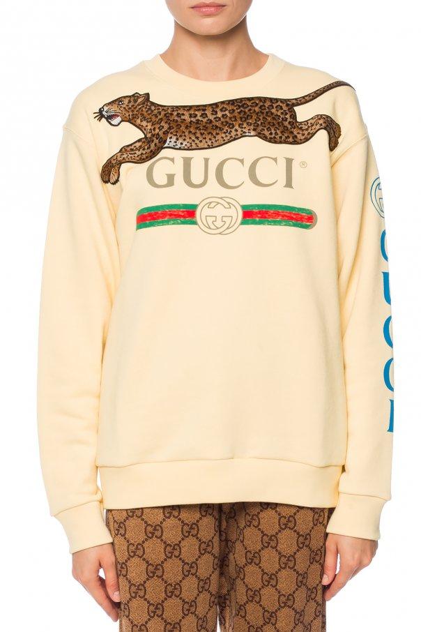 34506d884ec Logo-printed sweatshirt Gucci - Vitkac shop online