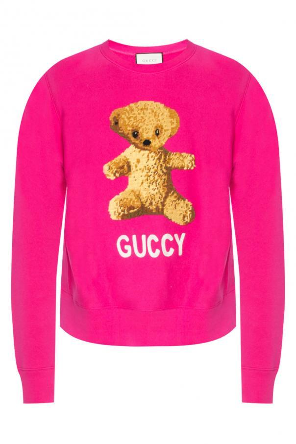 bf60b3e6703 Embroidered sweatshirt Gucci - Vitkac shop online