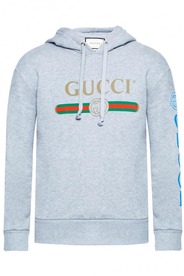 97e3f8d30ff Hooded sweatshirt with logo Gucci - Vitkac shop online