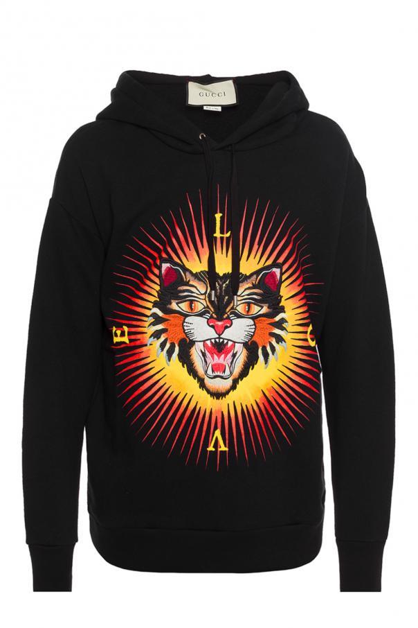 e161298057af Angry Cat' sweatshirt Gucci - Vitkac shop online