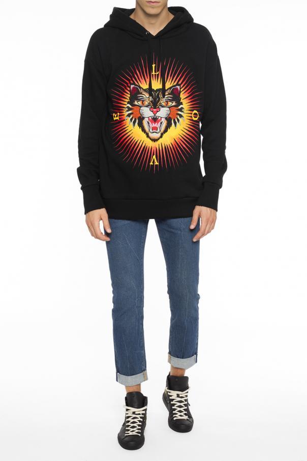 3f099f2f9d1 Angry Cat  sweatshirt Gucci - Vitkac shop online
