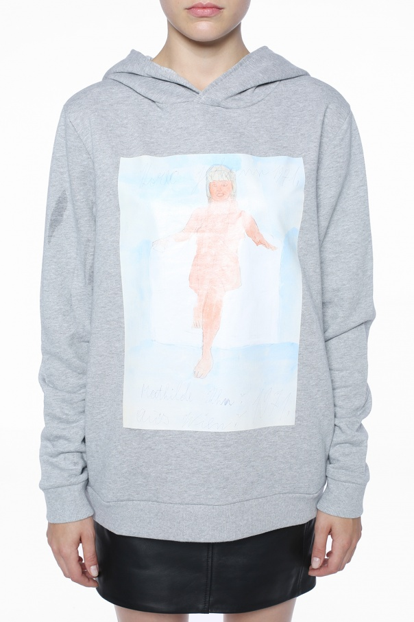 Printed sweatshirt od Christopher Kane