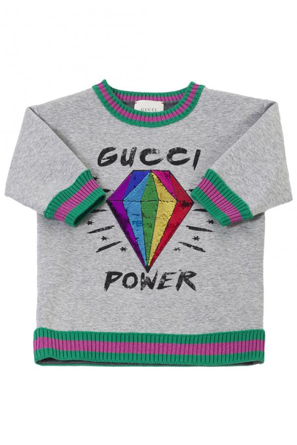 ba22fdd3bc8 Embellished sweatshirt Gucci Kids - Vitkac shop online