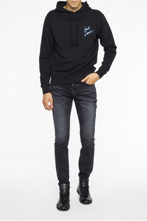 Logo-printed sweatshirt od Saint Laurent
