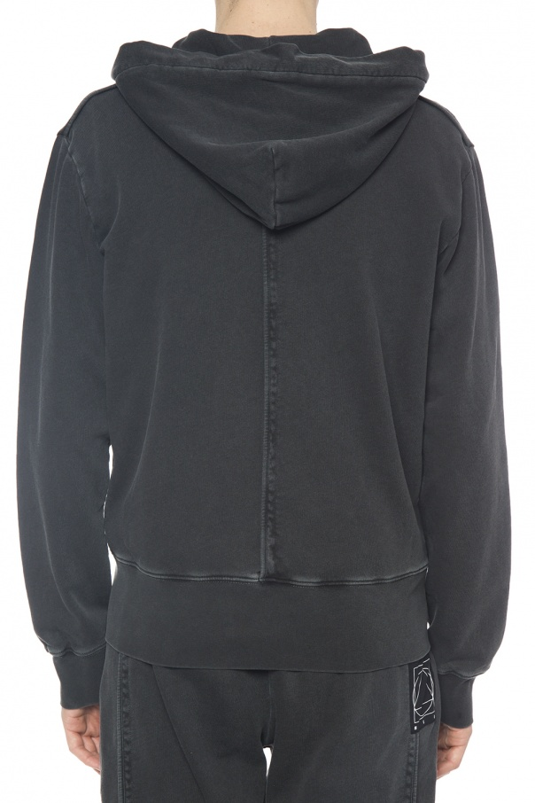 Sweatshirt with patch od McQ Alexander McQueen