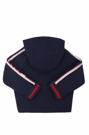 'web' sweatshirt od Gucci Kids
