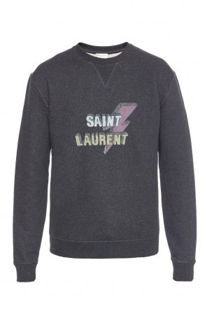 Logo sweatshirt od Saint Laurent