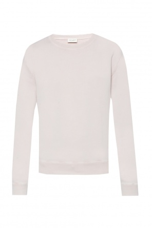 Raw-trimmed sweatshirt od Saint Laurent