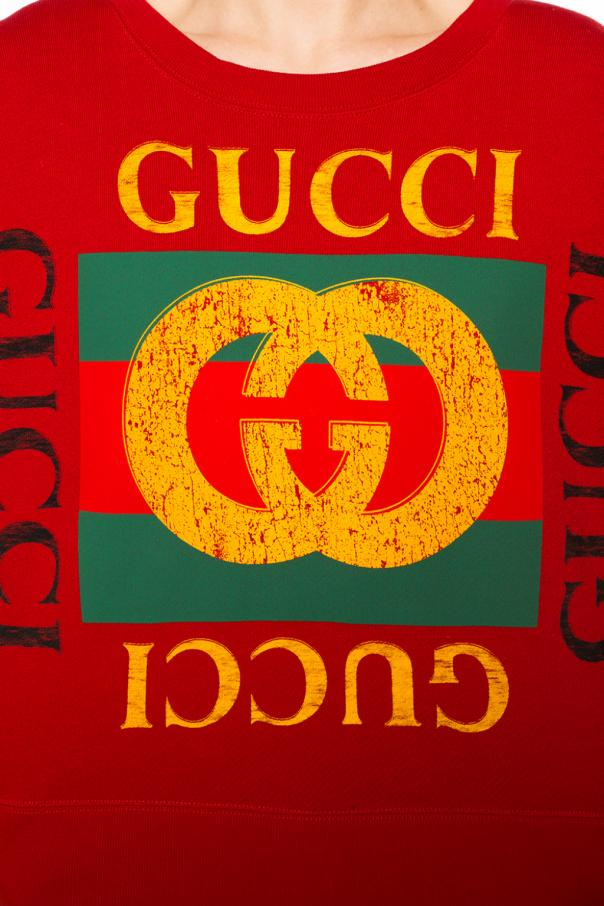 Embroidered sweatshirt od Gucci