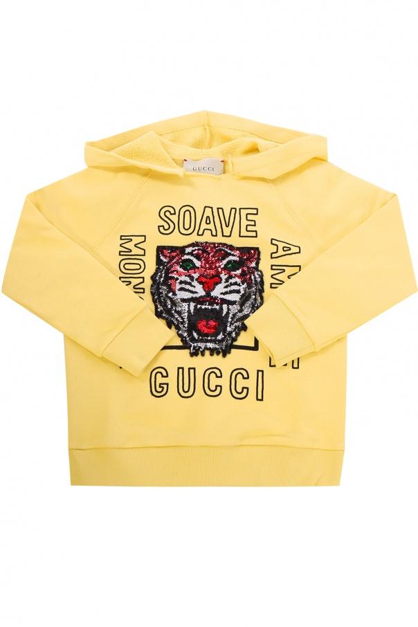 f49b4ca2349 Appliquéd sweatshirt Gucci Kids - Vitkac shop online