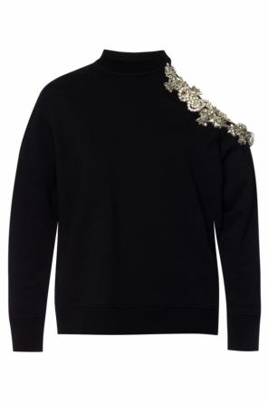 Encrusted sweatshirt od Christopher Kane