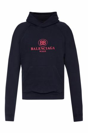 Hooded sweatshirt with logo od Balenciaga