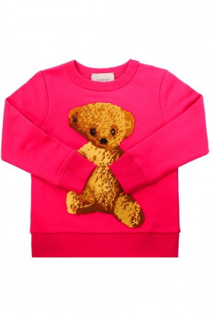 Embroidered sweatshirt od Gucci Kids