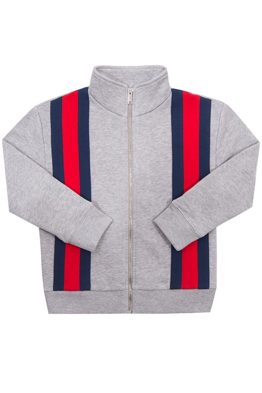 Gucci Kids Sweatshirt with a 'Web' stripe