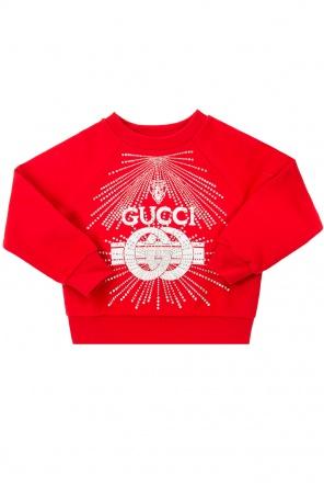 Logo sweatshirt od Gucci Kids Logo sweatshirt od Gucci Kids 1352f1c4d2c