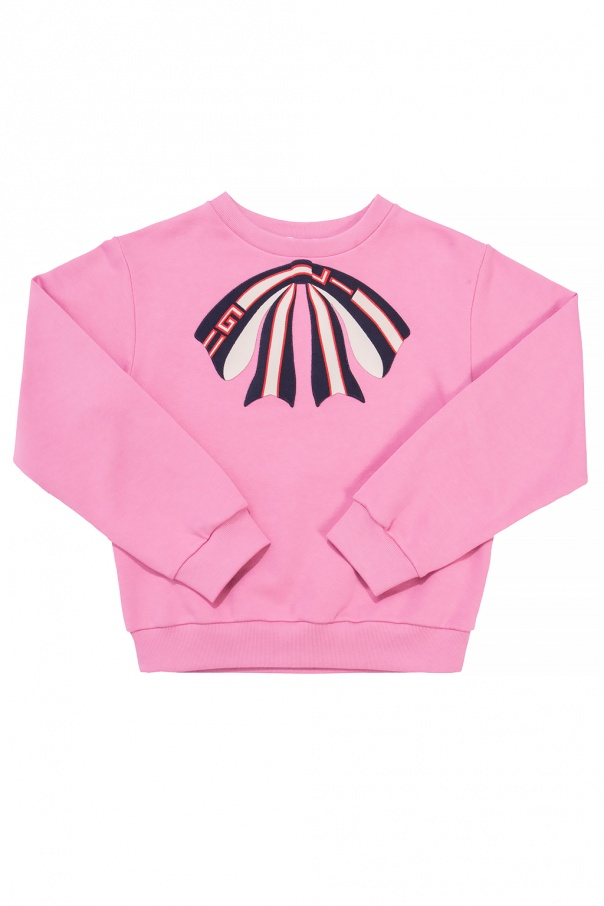 43a0122cd499d6 Sweatshirt with a bow Gucci Kids - Vitkac shop online