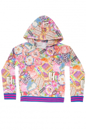 Patterned sweatshirt od Gucci Kids