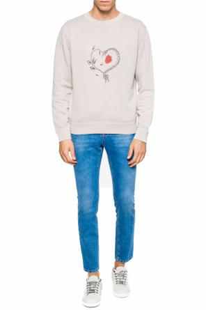 Printed sweatshirt od Saint Laurent