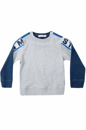 15a474c37d ... Bluza z nadrukami z logo od Stella McCartney Kids
