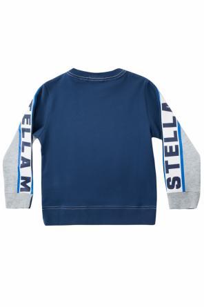 9769836c53 Bluza z nadrukami z logo od Stella McCartney Kids ...