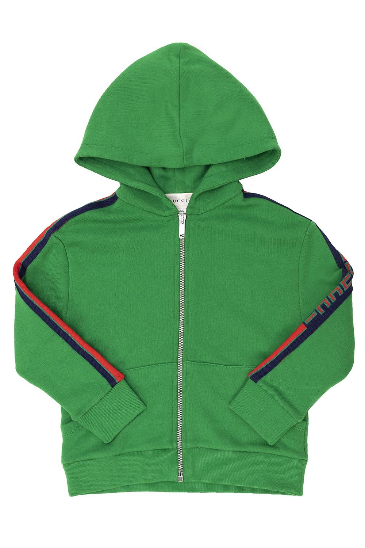 Gucci Kids 'Web' stripe sweatshirt