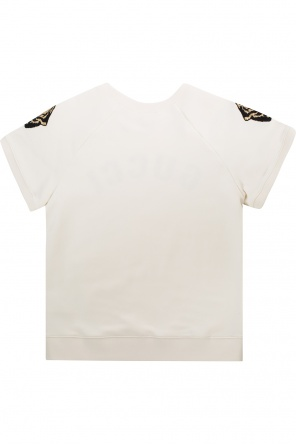 0e8268d365 Bluza z krótkimi rękawami z motywem tygrysa od Gucci Kids ...