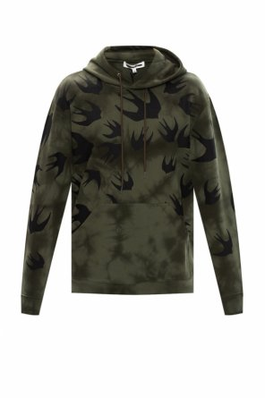Hooded sweatshirt with logo pattern od McQ Alexander McQueen