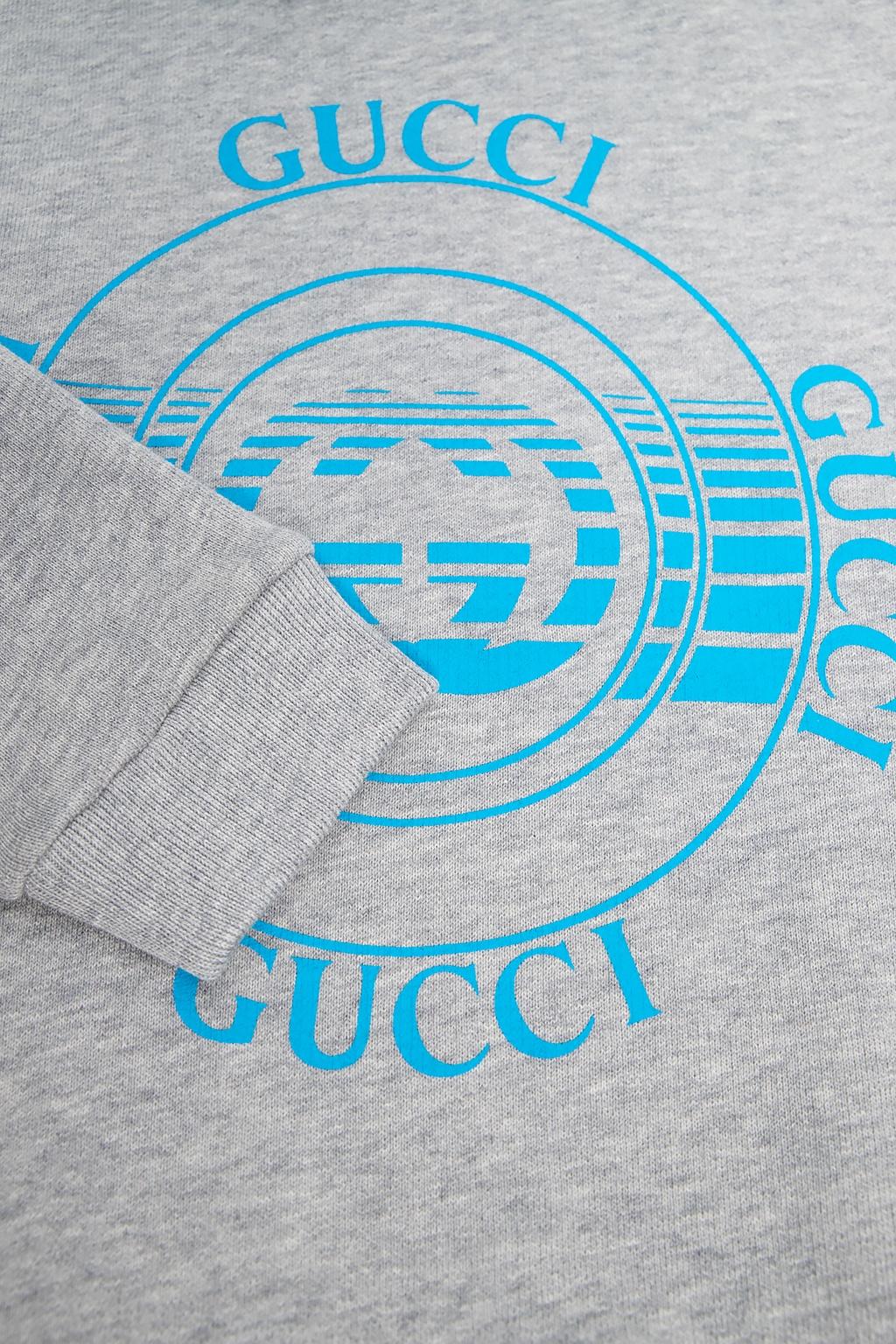 Gucci Kids Branded hoodie