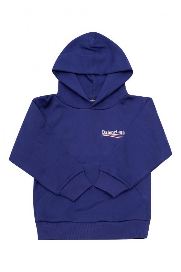 Balenciaga Kids Logo hoodie