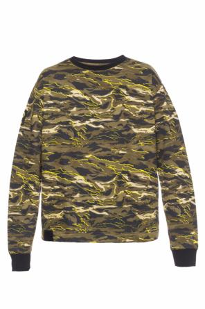 Camo sweatshirt od Puma XO by The Weeknd