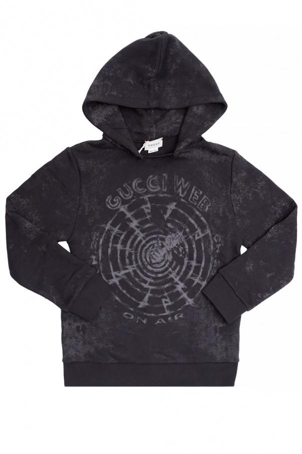 Gucci Kids Logo-printed hoodie