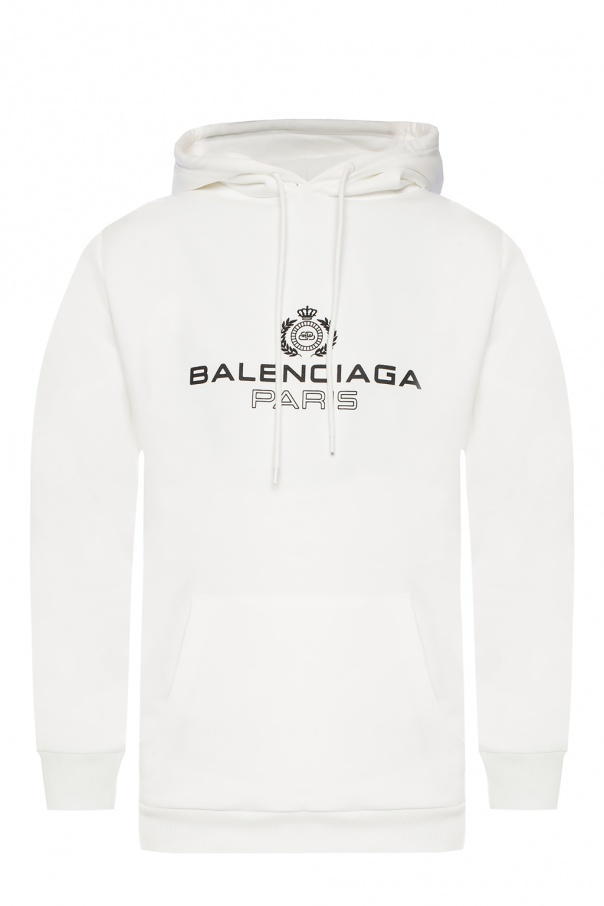 konkurencyjna cena buty do separacji Los Angeles Logo hoodie Balenciaga - Vitkac shop online