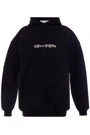 Oversize sweatshirt with logo od Balenciaga