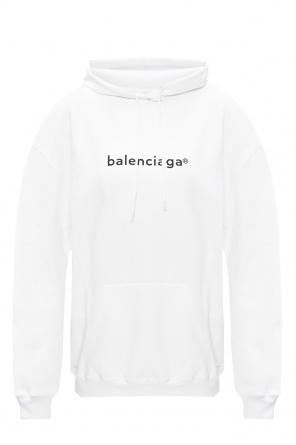 Oversize hoodie with logo od Balenciaga