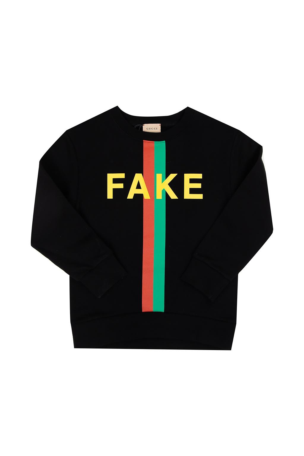 Gucci Kids Branded sweatshirt