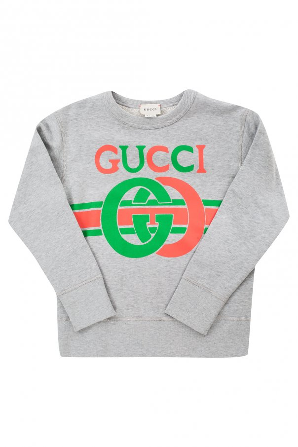 Gucci Kids Logo-printed sweatshirt