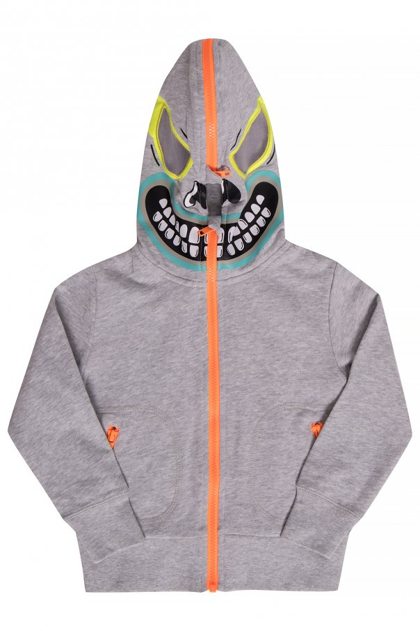 Stella McCartney Kids Sweatshirt with mask motif
