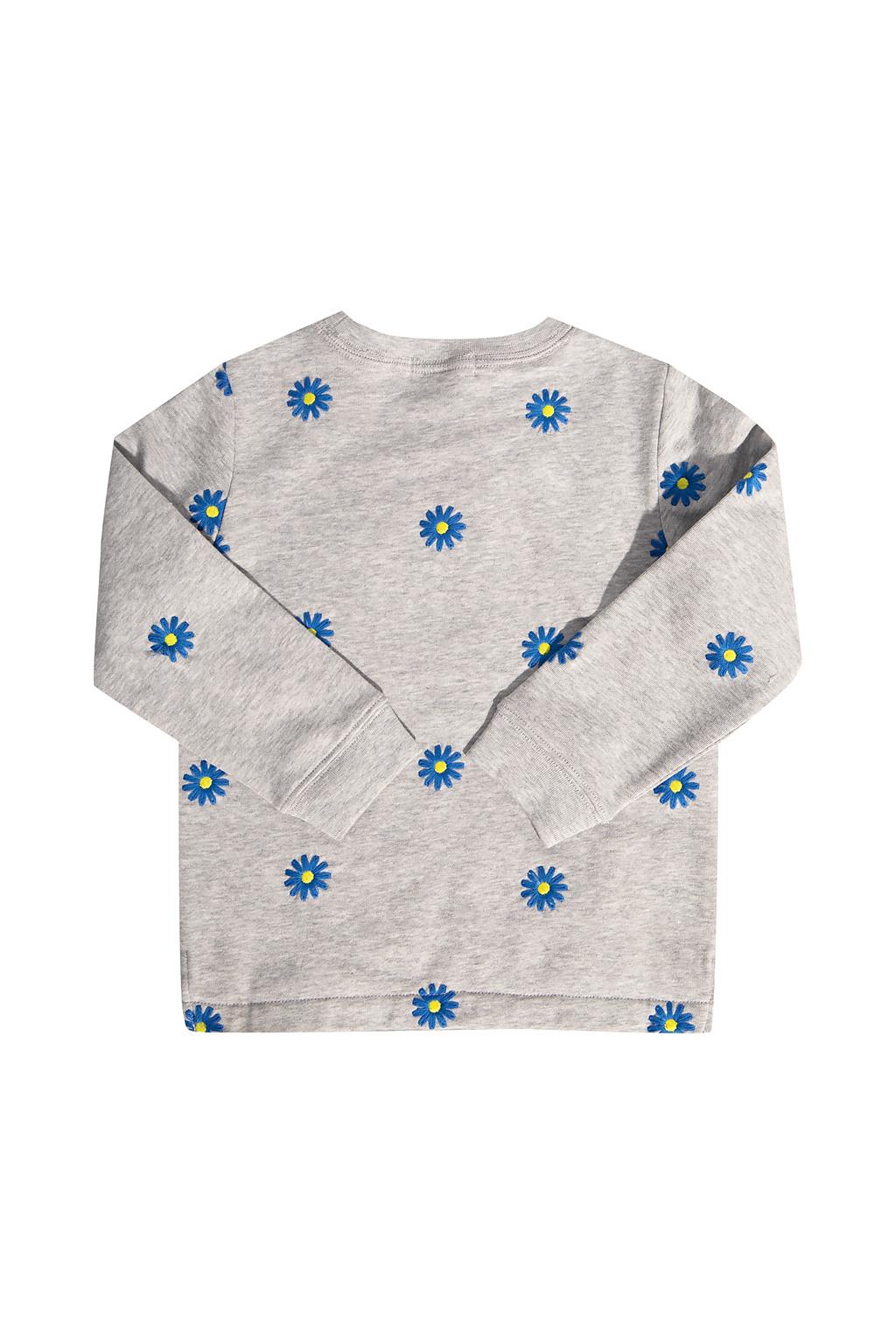 Stella McCartney Kids Embroidered sweatshirt