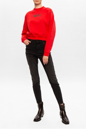 Cropped sweatshirt od McQ Alexander McQueen
